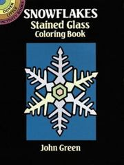 Snowflakes Stained Glass Coloring Book 0 9780486275314 0486275310