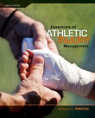 Essentials of Athletic Injury Management with eSims 8th Edition 9780077382018 0077382013