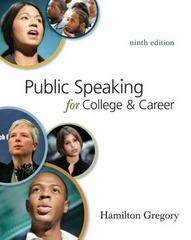 Public Speaking for College and Career with Connect Plus Public Speaking 9th Edition 9780077394066 0077394062