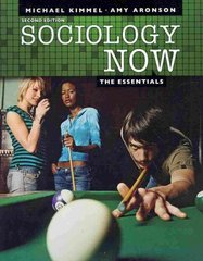 Sociology Now 2nd edition 9780205731992 0205731996