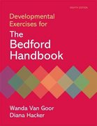Developmental Exercises for The Bedford Handbook 8th edition 9780312566746 0312566743