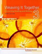 Weaving It Together 3 3rd Edition 9781424057405 142405740X