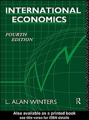 International Economics 4th edition 9780203028384 0203028384
