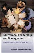 Educational Leadership and Management 1st edition 9780335236091 033523609X