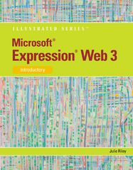 Microsoft Expression Web 3 1st edition 9781111791391 1111791392
