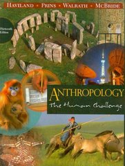 Anthropology 13th edition 9780495810841 0495810843