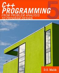 C++ Programming 5th edition 9780538798082 0538798084