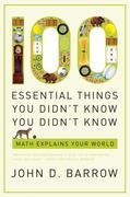 100 Essential Things You Didn't Know You Didn't Know 1st edition 9780393338676 0393338673