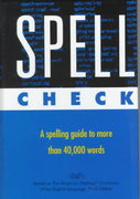Spell Check 3rd edition 9780395756911 039575691X