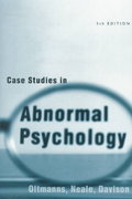 Case Studies in Abnormal Psychology 5th edition 9780471252160 0471252166