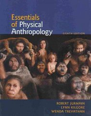 Essentials of Physical Anthropology 8th edition 9780840032591 0840032595