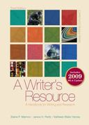 A Writer's Resource (comb-bound) 2009 APA &amp. MLA Update, Student Edition 3rd edition 9780077367466 0077367464
