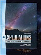 LSC Explorations Volume 1: Solar System (Ch 1-12) 6th edition 9780077389536 0077389530