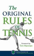 The Original Rules of Tennis 0 9781851243181 1851243186