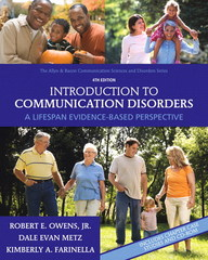 Introduction to Communication Disorders 4th Edition 9780137000081 0137000081