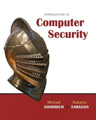 Introduction to Computer Security 1st Edition 9780321512949 0321512944