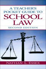 A Teacher's Pocket Guide to School Law 2nd Edition 9780135094181 0135094186