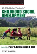 The Wiley-Blackwell Handbook of Childhood Social Development 2nd edition 9781405196796 1405196793
