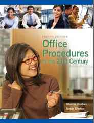 Office Procedures for the 21st Century 8th Edition 9780135063897 0135063892