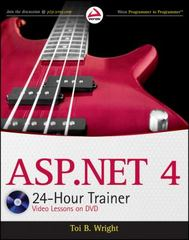 ASP.NET 4 24-Hour Trainer 1st edition 9780470596913 0470596910