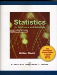 Statistics for Engineers and Scientists 3rd edition 9780071222051 0071222057