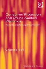 Consumer Protection and Online Auction Platforms 1st Edition 9780754677109 0754677109
