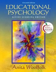 Educational Psychology 11th edition 9780135094105 0135094100