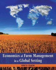Economics of Farm Management in a Global Setting 1st Edition 9781118138731 1118138732