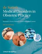 de Swiet's Medical Disorders in Obstetric Practice 5th edition 9781405148474 1405148470