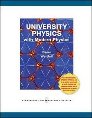 University Physics with Modern Physics 1st edition 9780071221771 0071221778