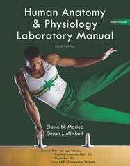 Human Anatomy & Physiology Lab Manual, Main Version 9th edition 9780321616142 0321616146