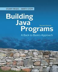Building Java Programs 2nd Edition 9780136091813 0136091814