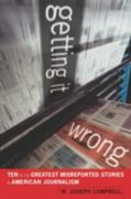 Getting It Wrong 1st Edition 9780520945609 0520945603