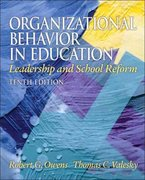 Organizational Behavior in Education 10th Edition 9780137017461 0137017464