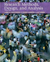 Research Methods, Design, and Analysis 11th edition 9780205701650 0205701655