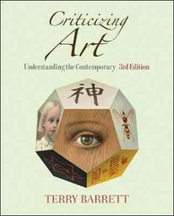 Criticizing Art 3rd Edition 9780073379197 0073379190