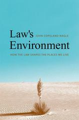 Law's Environment 0 9780300126297 0300126298