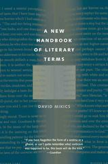 A New Handbook of Literary Terms 1st Edition 9780300164312 0300164319