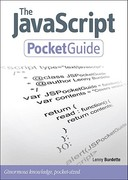 The JavaScript Pocket Guide 1st Edition 9780321700957 0321700953