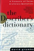 The Describer's Dictionary 0 9780393312652 0393312658