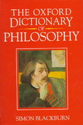 The Oxford Dictionary of Philosophy 0 9780192116949 0192116940