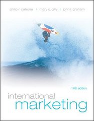 International Marketing 14th edition 9780073380988 0073380989