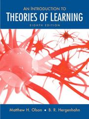 Introduction to the Theories of Learning 8th edition 9780136057727 0136057721