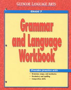 Glencoe Language Arts, Grammar and Language 1st Edition 9780078205408 0078205409