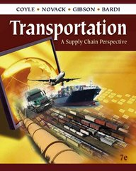 Transportation 7th Edition 9780324789195 032478919X