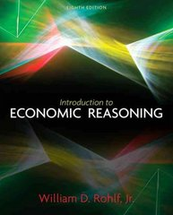 Introduction to Economic Reasoning 8th edition 9780131368583 0131368583