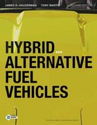 Hybrid and Alternative Fuel Vehicles 3rd Edition 9780132784849 013278484X