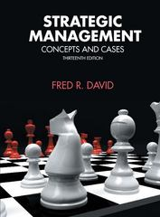 Strategic Management 13th Edition 9780132998086 0132998084
