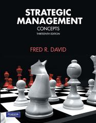 Strategic Management 13th edition 9780136120995 0136120997