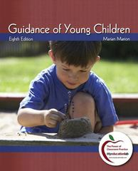 Guidance of Young Children 8th edition 9780137034024 0137034024